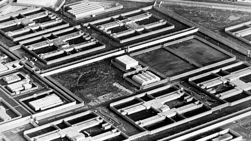 File image of Maze prison in Northern Ireland