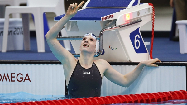 Bethany Firth won Paralympic gold and World silver