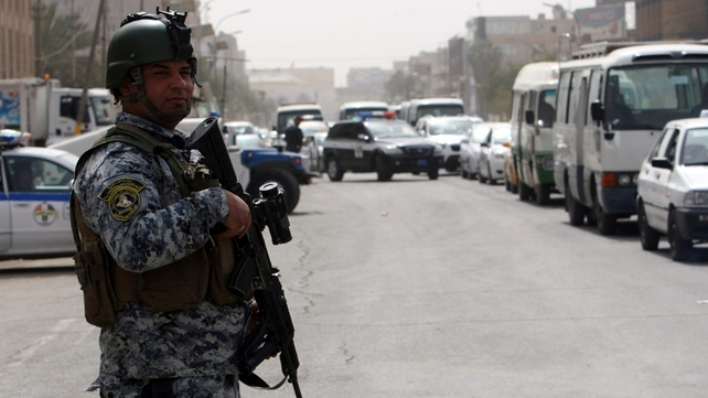 Militants opposed to the Iraqi government frequently target security forces with bombings and shootings