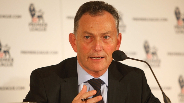 Richard Scudamore called the emails 'an error of judgement'