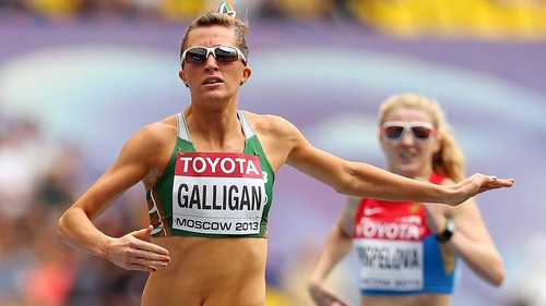 Rose-Anne Galligan broke Sonia O'Sullivan's 800m national record last month