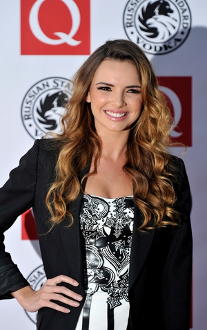 Girls Aloud star, Nadine Coyle, announced she was pregnant