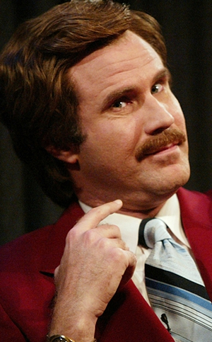 Ron Burgundy announced that he wil publish a tell-all memoir