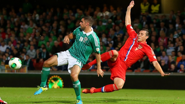 Michael O'Neill's side claimed a hugely credible 1-0 victory over Russia last night