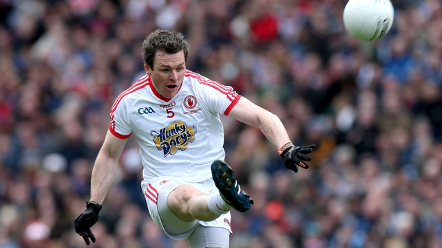 Conor Gormley can play for Tyrone in their All-Ireland semi-final clash with Mayo
