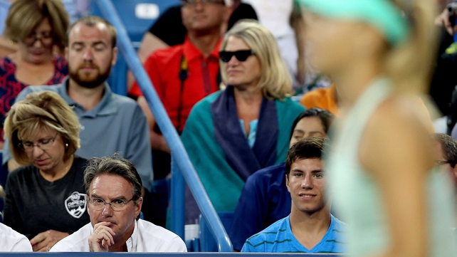 Jimmy Connors' time watching over Maria Sharapova has come to an abrupt end