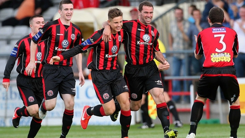 Bohemians are two points ahead of their relegation rivals