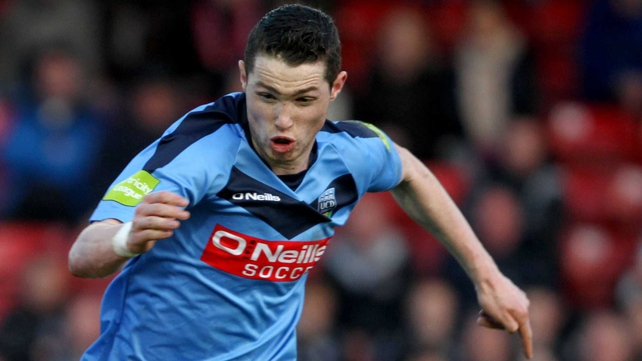 Cillian Morrison hit a hat-trick for UCD