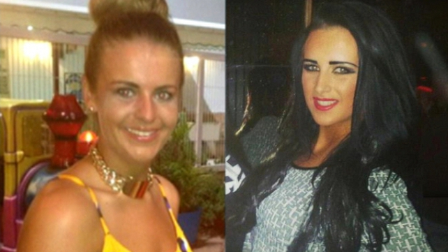 Melissa Reid (L) and Michaella McCollum (R) are being detained and have yet to be formally charged before a judge
