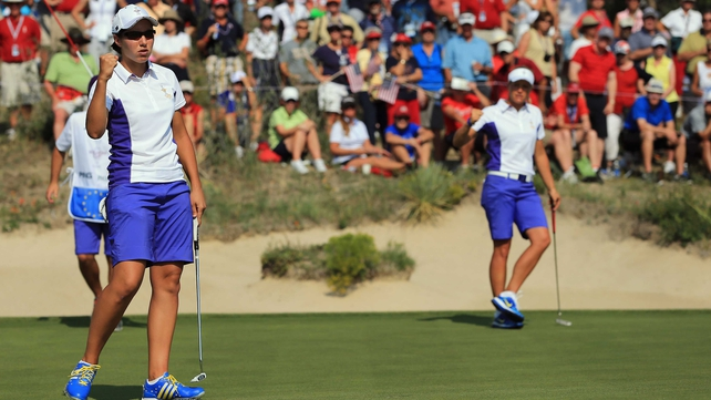 Europe are bidding to win the Solheim Cup on American turf for the first time