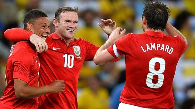 Frank Lampard: 'I didn't speak to Wayne about it when I was with England last week'
