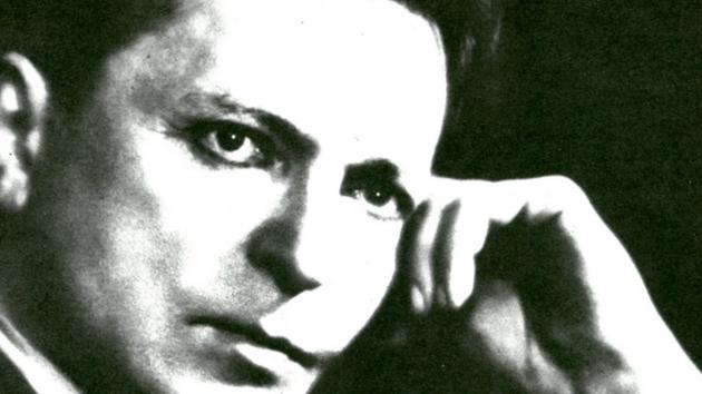 Romanian composer George Enescu (1881-1955)