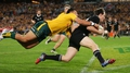 Hat-trick for Smith as All Blacks beat Wallabies