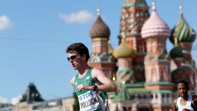 Ireland's Paul Pollock finished in 21st place in Moscow