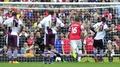 Villa shock 10-man Gunners
