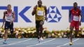 Bolt blazes to sprint double with 200 metres win