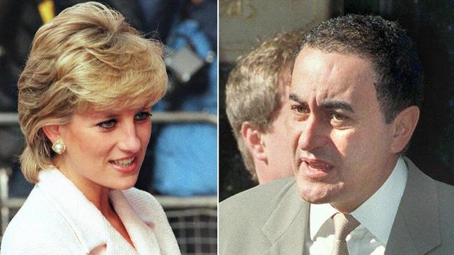 Princess Diana and Dodi Al Fayed died in a car crash in Paris in August 1997