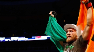 Conor McGregor is in line for a title shot, possibly at Croke Park, if he wins in Boston this weekend