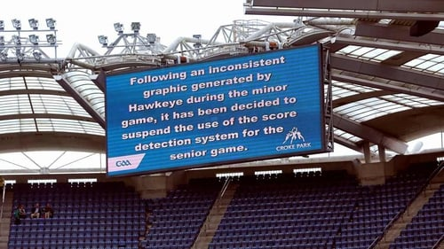 A message before today's senior game