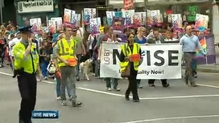 5,000 march calling for marriage rights for same-sex couples