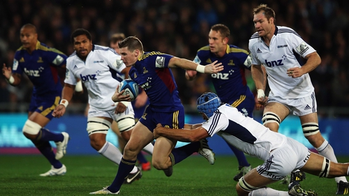 Colin Slade of the Highlanders has been drafted into the New Zealand squad