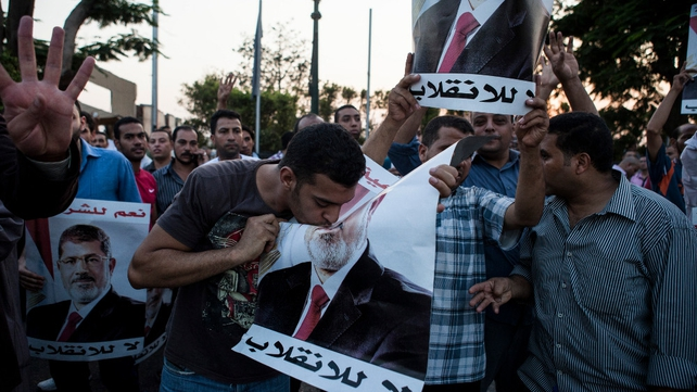 Pro-Mursi supporters have vowed to keep up their campaign to have the former president reinstated