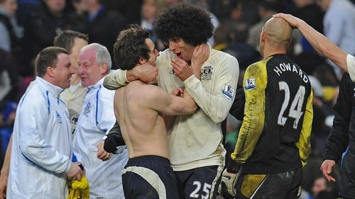 Manchester United's bid for Leighton Baines and Marouane Fellaini was rejected immediately