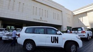 The UN team was due to start its work today