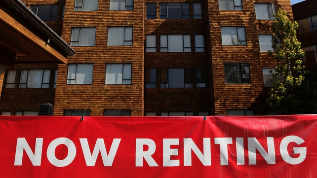 The report found that the national average rent has risen from €825 to €925