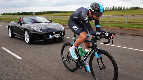 Froome was recently presented with a new F-TYPE by Jaguar to celebrate his remarkable Tour win
