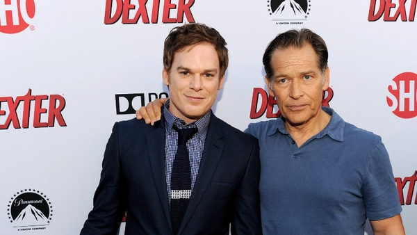 James Remar with Dexter co-star Michael C Hall