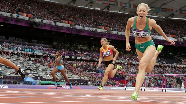 Derval O'Rourke said Beijing in 2008, rather than London 2012, had been her best chance of an Olympic medal