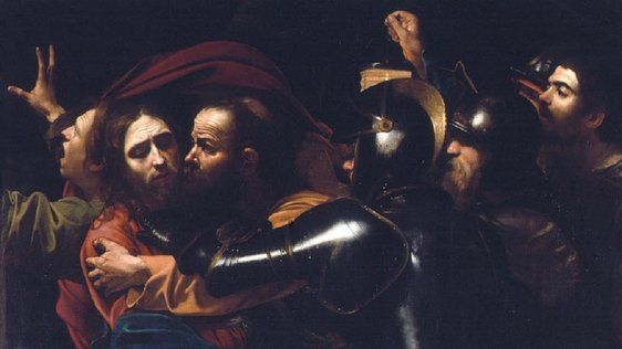 Caravaggio 'The Taking of Christ'