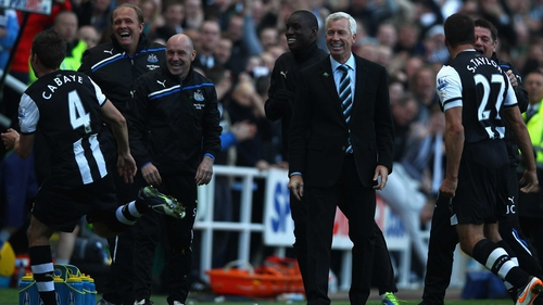 Under Pardew, Newcastle qualified for the 2012-13 Europa League