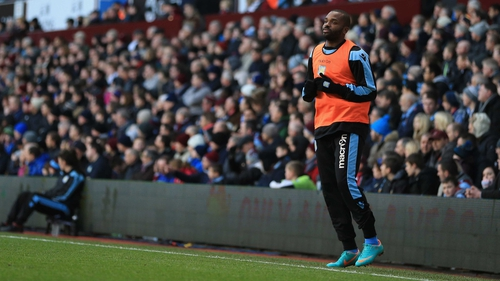 Darren Bent spent the majority of last season watching from the sidelines