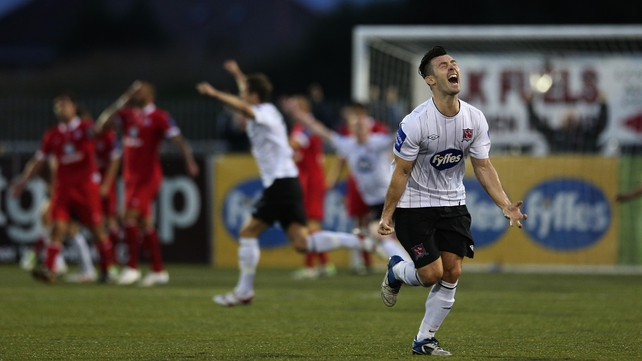 Dundalk's Richie Towell is nominated in the player of the year and young player categories