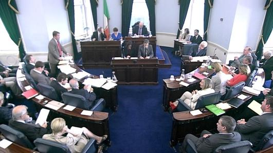 Seán Kyne TD agus Thomas Byrne , Seanadóir.
