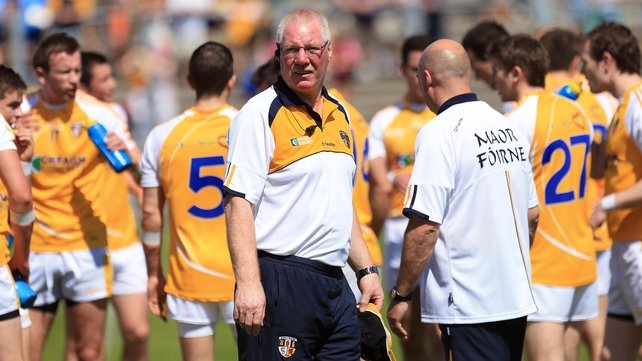 Frank Dawson will hope for better in his second season in charge of Antrim