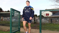 The 25 year-old Leinster player outlines his disappointment at having to give up rugby because of a long-standing knee injury.