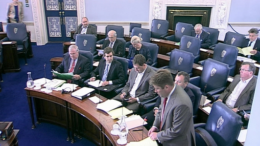 Radio column arguing for Seanad abolition