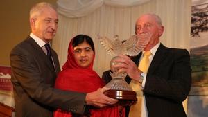 Malala received the Tipperary International Peace Award last year
