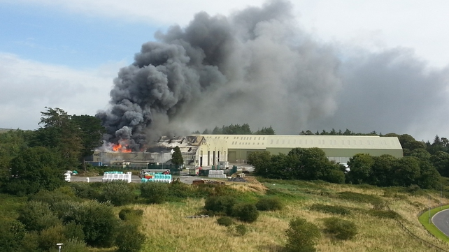 The facility was evacuated