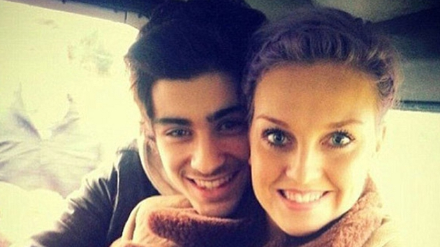 A loved-up Zayn and Perrie courtesy of instagram