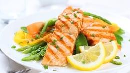 Oven Baked Organic Salmon