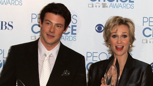 Cory Monteith and Jane Lynch