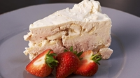 Iced Strawberry Meringue Cake - A delicious cake from Rachel Allen.