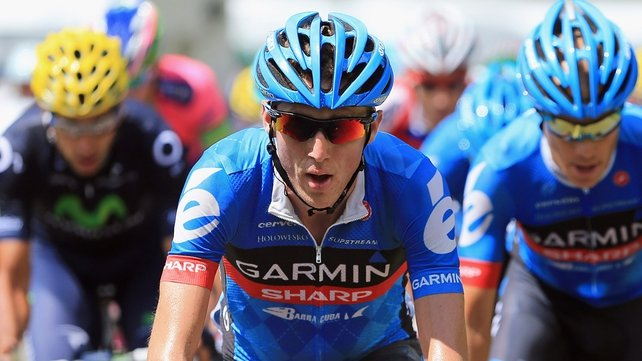 Dan Martin had a swipe at the UCI over rider safety following his crash