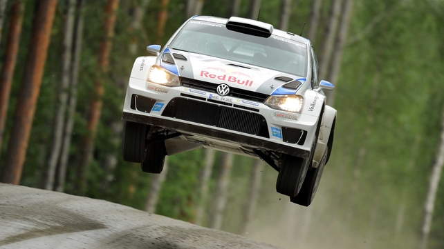 Sebastian Ogier in his Volkswagen