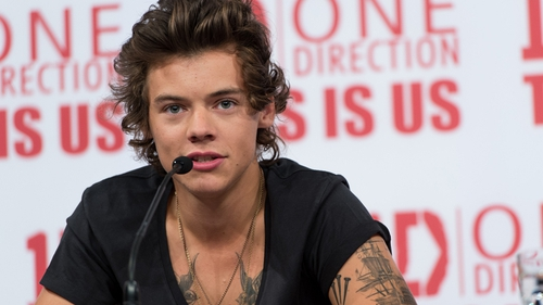 Down with that sort of thing: Harry reckons Miley's twerking was inappropriate