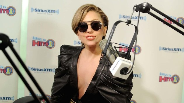 Lady Gaga is doing publicity ahead of the MTV VMAs this Sunday